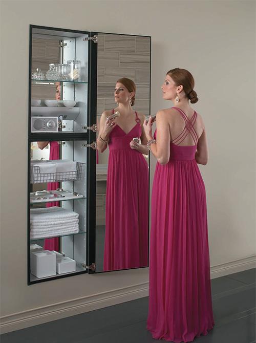 Full Length Mirror With Jewelry Storage Diy