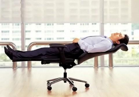 Silla de oficina para tumbarse for Cama oficina