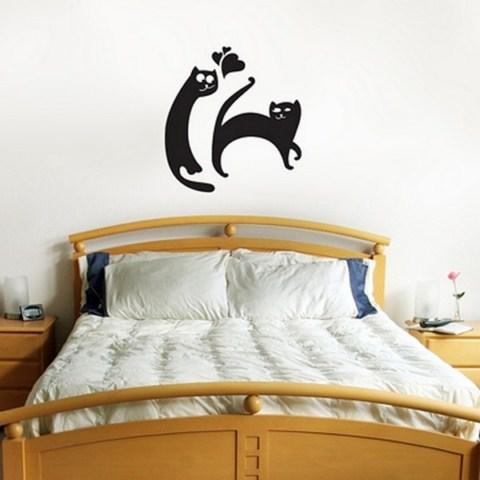 vinilos de gatos para el hogar
