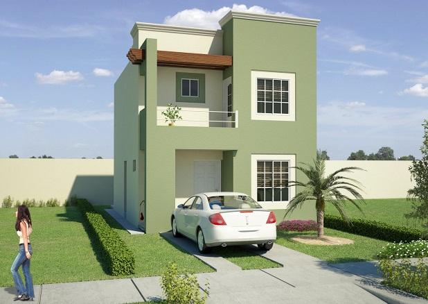 Colores para la fachada for Colores para exteriores de casa