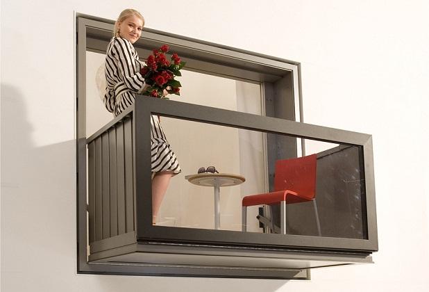 Складной балкон всё для вашего дома.