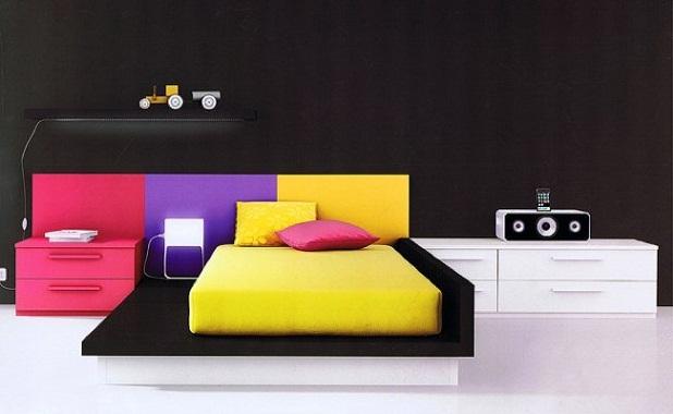 Dormitorio juvenil de colores - Colores dormitorio juvenil ...