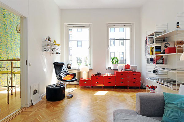 Los mejores apartamentos de estilo sueco for Mejores blogs decoracion