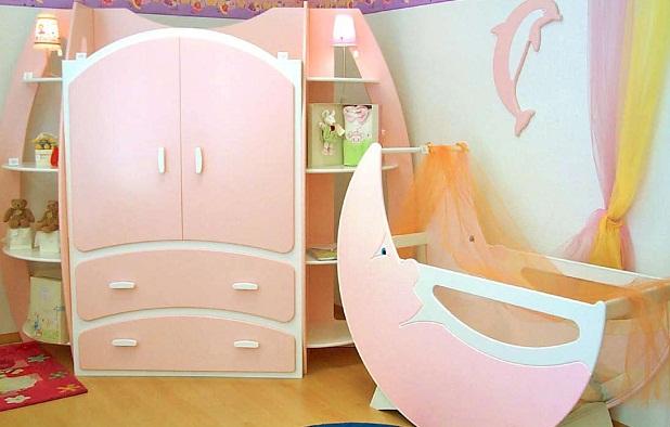 Muebles para el dormitorio de un beb - Muebles dormitorio bebe ...