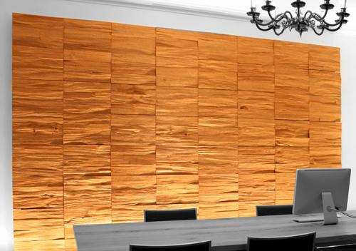 Paneles decorativos de madera para paredes for Planchas de madera para paredes