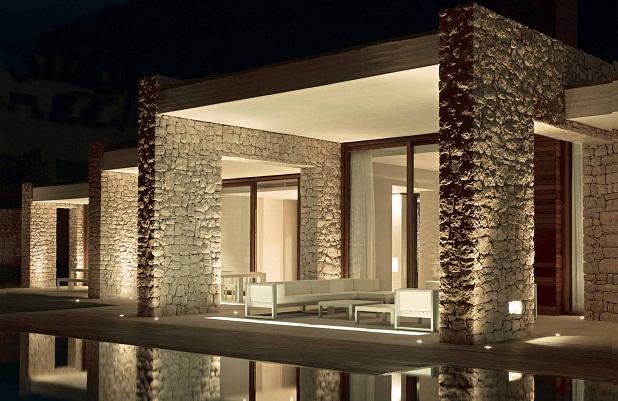 Iluminaci n perfecta para un hogar - Lamparas exteriores para jardin ...