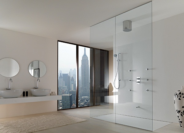 Baños Con Ducha Abierta:Ventajas y desventajas de las duchas abiertas y cerradas