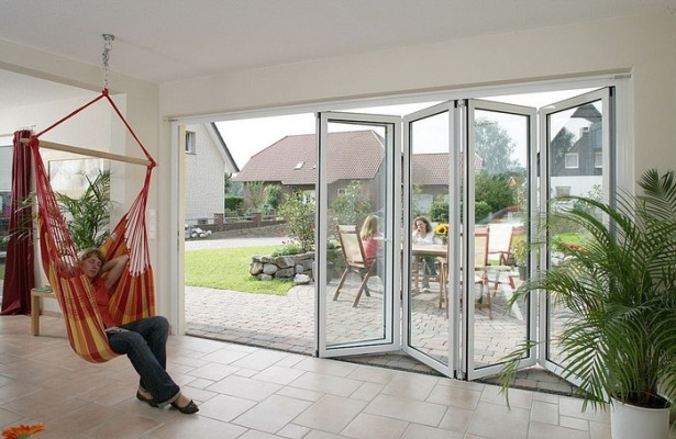 Puertas plegables - Puertas para terrazas aluminio ...