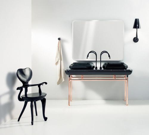 Baños Estilo Art Deco:Cuarto de baño art deco por Jaime Hayón para Bisazza