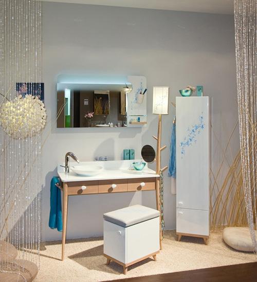 Decoracion De Baño Con Material Reciclado:Cuarto de baño conceptual Sismo