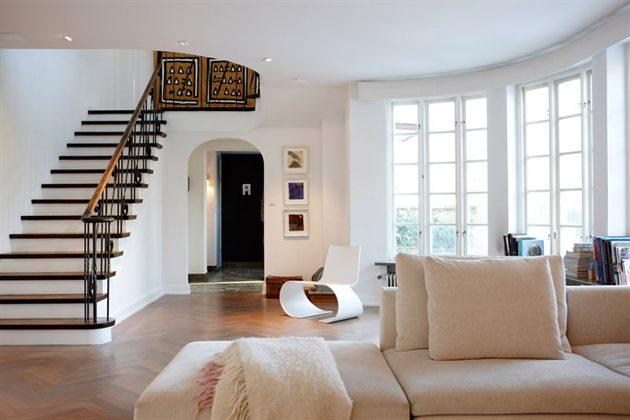 Casa con decoraci n sueca for New home inside design