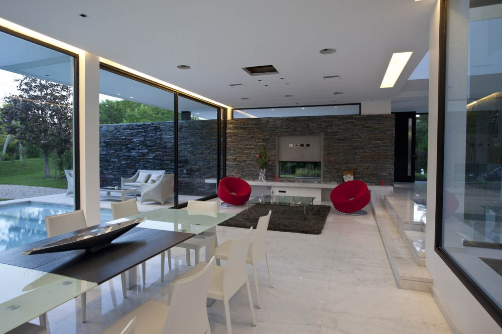 Interior Casas Modernas Trendy Puertas Para Casa Puertas