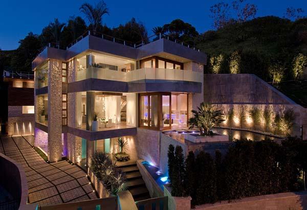 Dolce hogar espectacular vivienda en los ngeles california - Ver casas de lujo por dentro ...