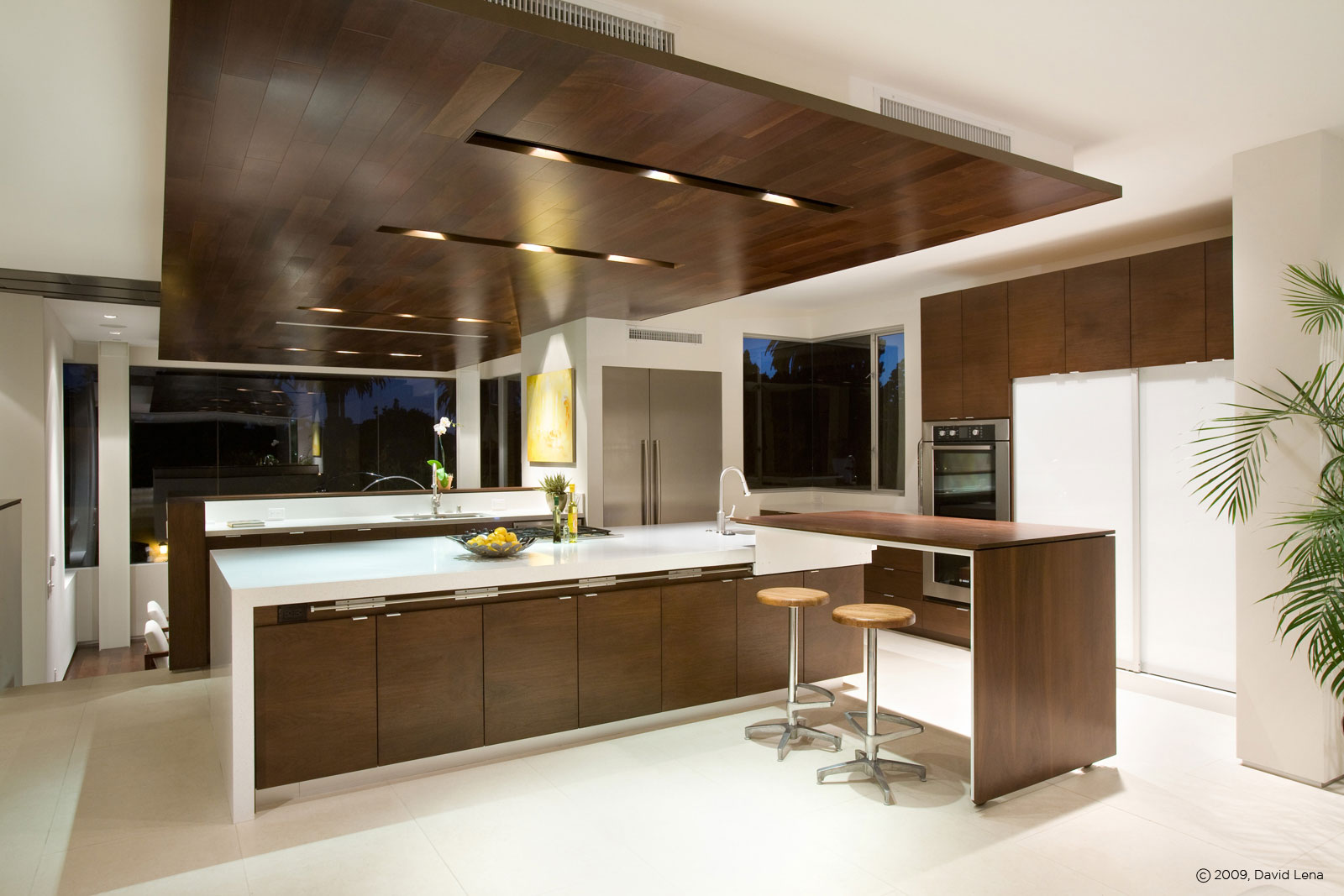 Casa minimalista en los ngeles for Contemporary kitchen designs 2014
