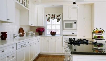 a continuacin puedes ver un recopilatorio de imgenes de cocinas blancas las hay de todos los tipos modernas y clsicas seguro que te servirn de - Cocinas Clasicas Blancas