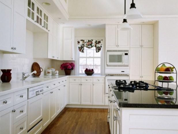 Cocinas blancas for Cocinas blancas clasicas