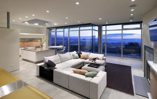 C mo hacer que una casa parezca m s grande for Casa minimalista grande