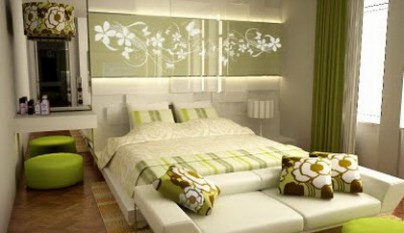 dormitorio_decoracion_verde_blanco