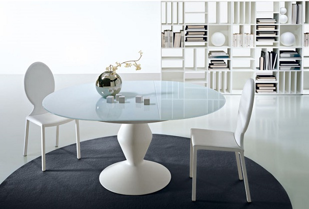 Mesas de comedor con base especial - Bases para mesa de comedor ...