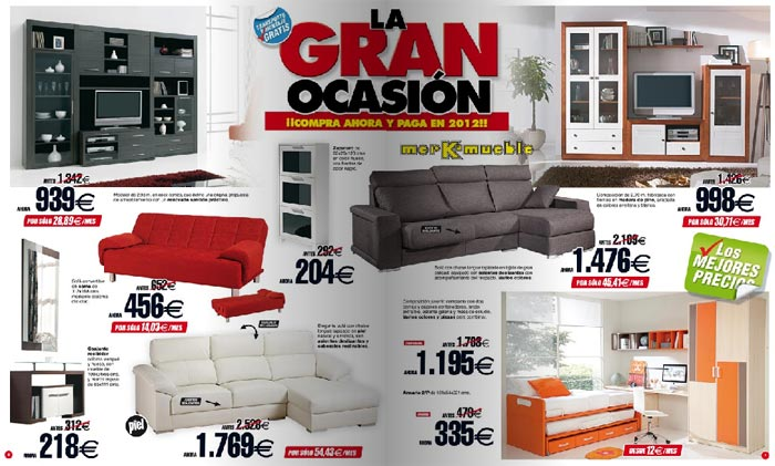 Colecci n merkamueble hogares 2011 - Mundo joven muebles catalogo ...