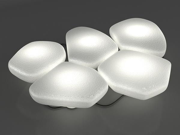 para poder llegar hasta la puerta de casa estas piedras blancas cualquier jardn en un oasis de iluminacin moderna y original