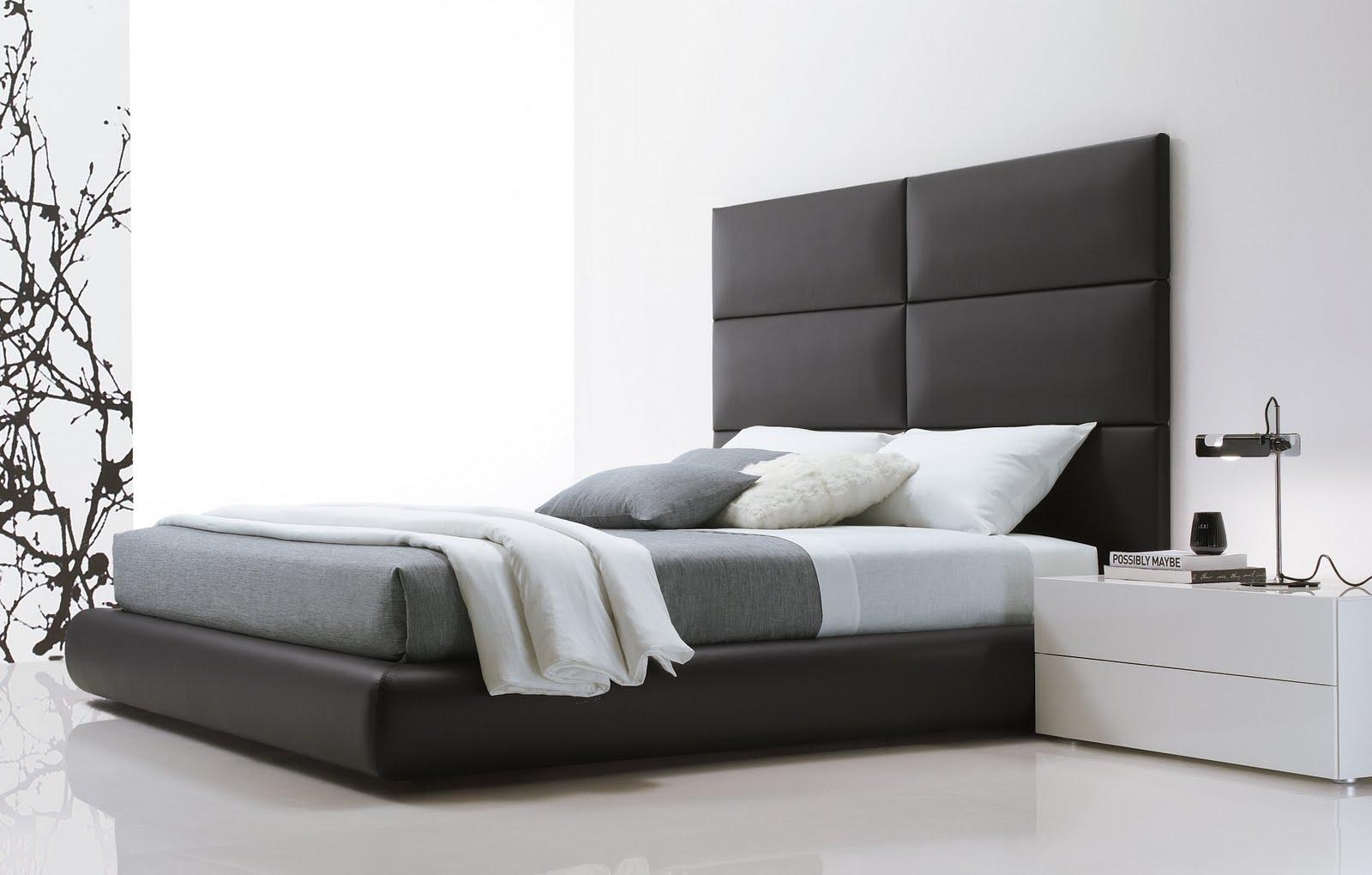 Dormitorios minimalistas for Juego de habitacion moderno