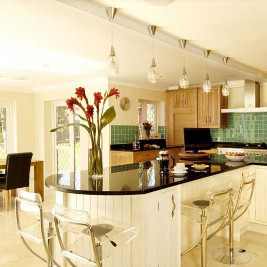 Kitchen designs best of 2010 spacious kitchen with for Best kitchen designs 2011