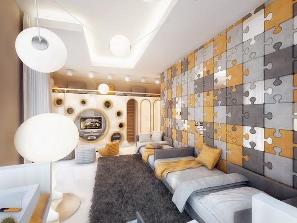 amazing kids bedroom wall color ideas | Decorablog - Revista de decoración