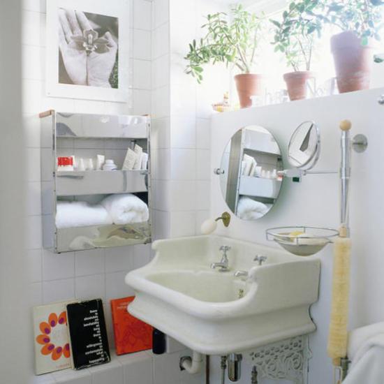 Baño Suelo Gris Pared Blanca ~ Dikidu.com