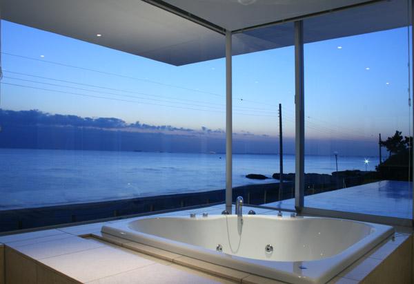 Baños Con Vista Al Mar:Bathtub with Ocean View