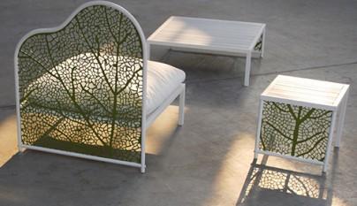 Mobiliario para el jard n de corradi for Mobiliario para el jardin