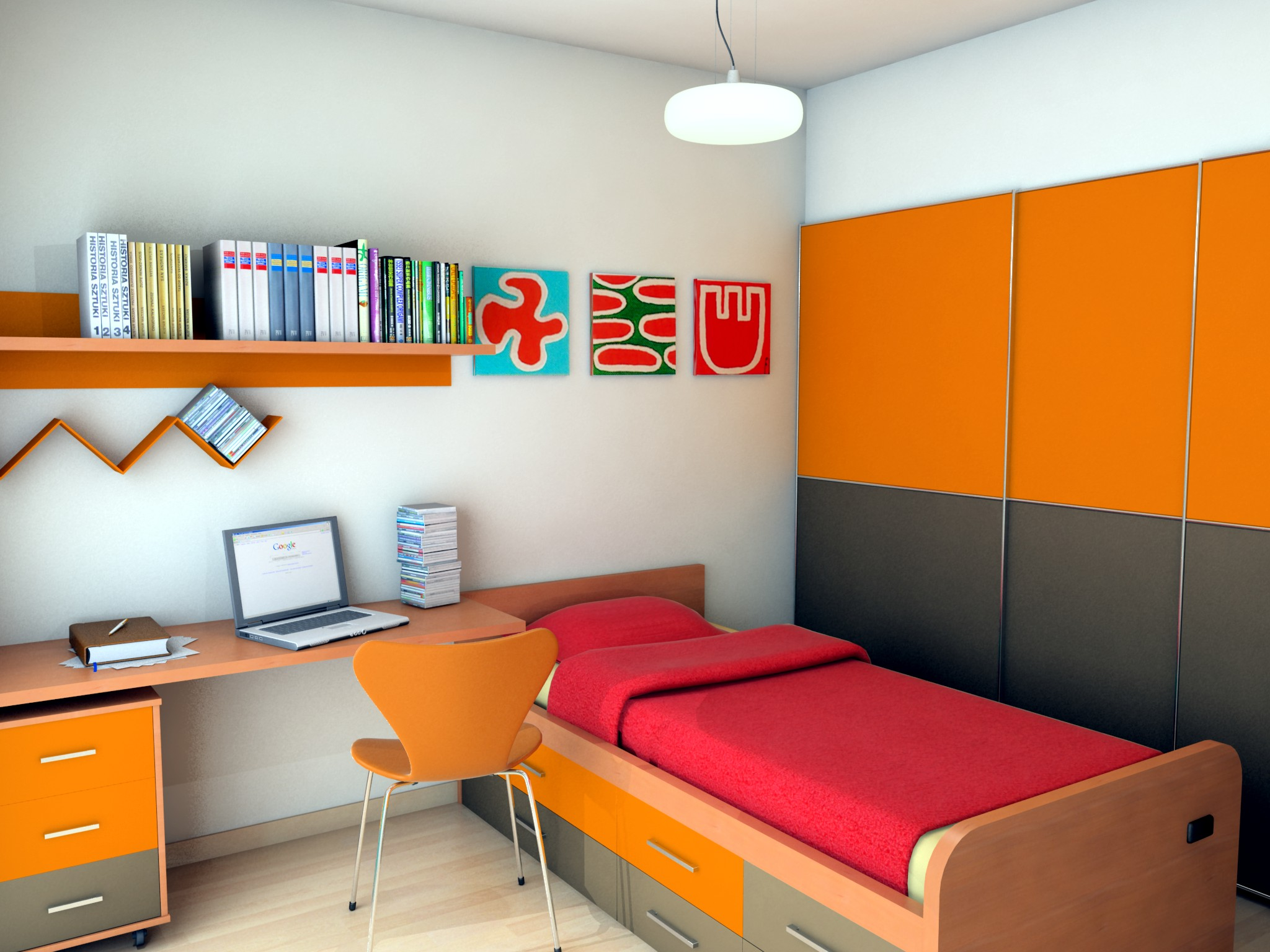 Colores para habitaciones peque as - Ideas decoracion habitacion juvenil ...