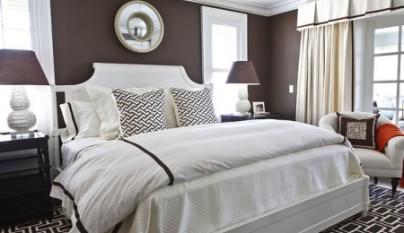 Dormitorios de color marr n chocolate - Textil dormitorio ...