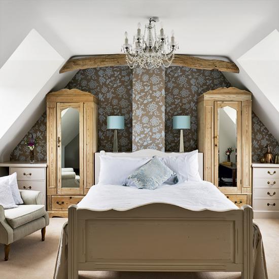 Glamorous Attic Bedroom Jpg