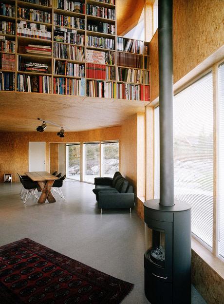 Decorar las paredes con tableros de corcho for Interieur osb