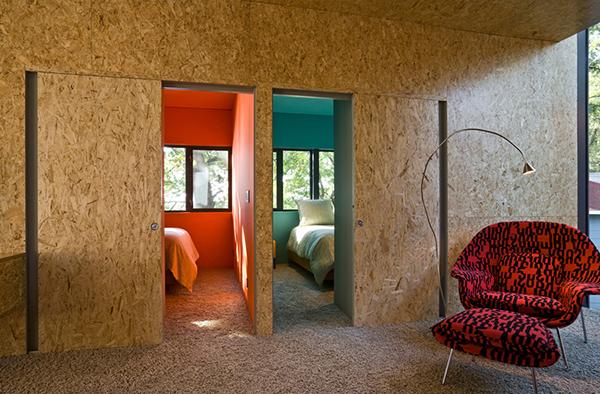 Underlayment Slaapkamer : OSB Board for Interior Walls