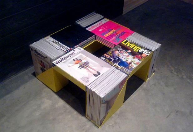 Decorablog revista de decoraci n - Mesas de libro para salon ...