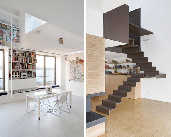Escaleras de interior minimalistas for Pisos para escaleras minimalistas