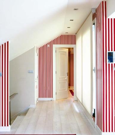 Pintar las paredes a rayas - Pintar paredes a rayas horizontales ...