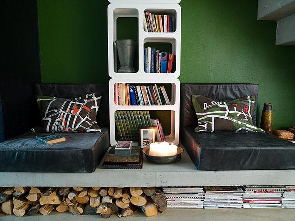 Peque o estudio de dise o con grandes ideas for Cool small studio apartments