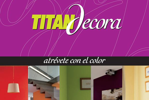 Titan decora combinaci n de colores en paredes for Combinacion de colores para paredes