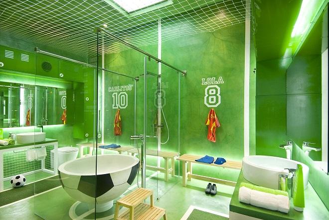Baño Ninos Decoracion:Baños de colores