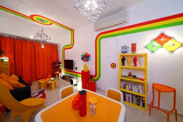 Casa colorida en hong kong - Apartamentos en hong kong ...