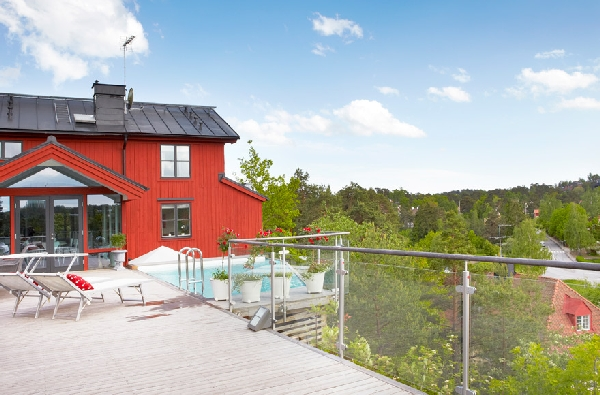 Casa con piscina en estocolmo3 - Apartamentos en estocolmo ...