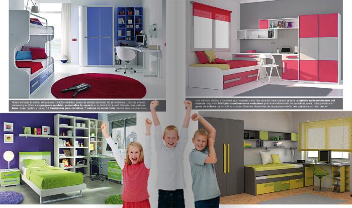 Colecci n merkamueble hogares 2011 for Muebles juveniles merkamueble