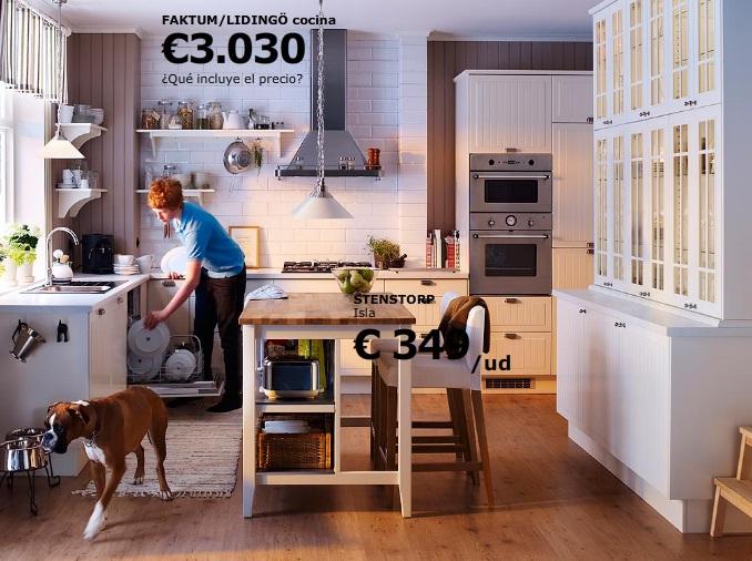 Hermoso precios de cocinas en ikea galer a de im genes for Muebles cocina ikea precios