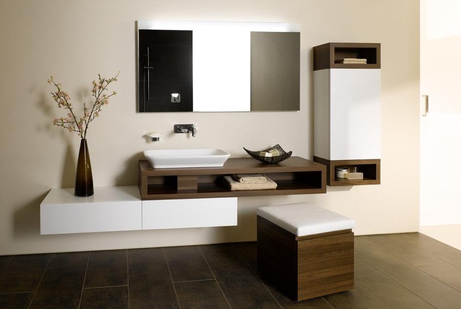 Ideas Baños Minimalistas:Colección de baño modular por Toto