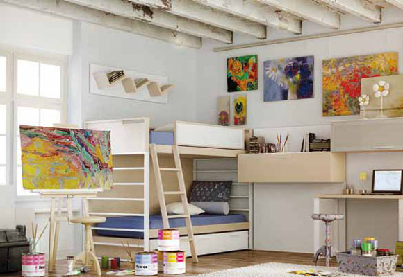 Dormitorios juveniles carre for Muebles carre