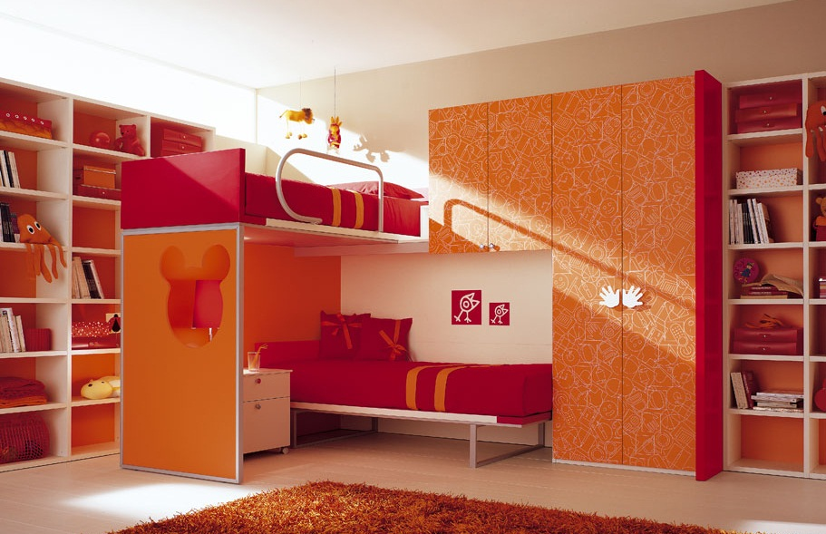 Dormitorios para ni os por berloni - Dormitorios infantiles para nino ...