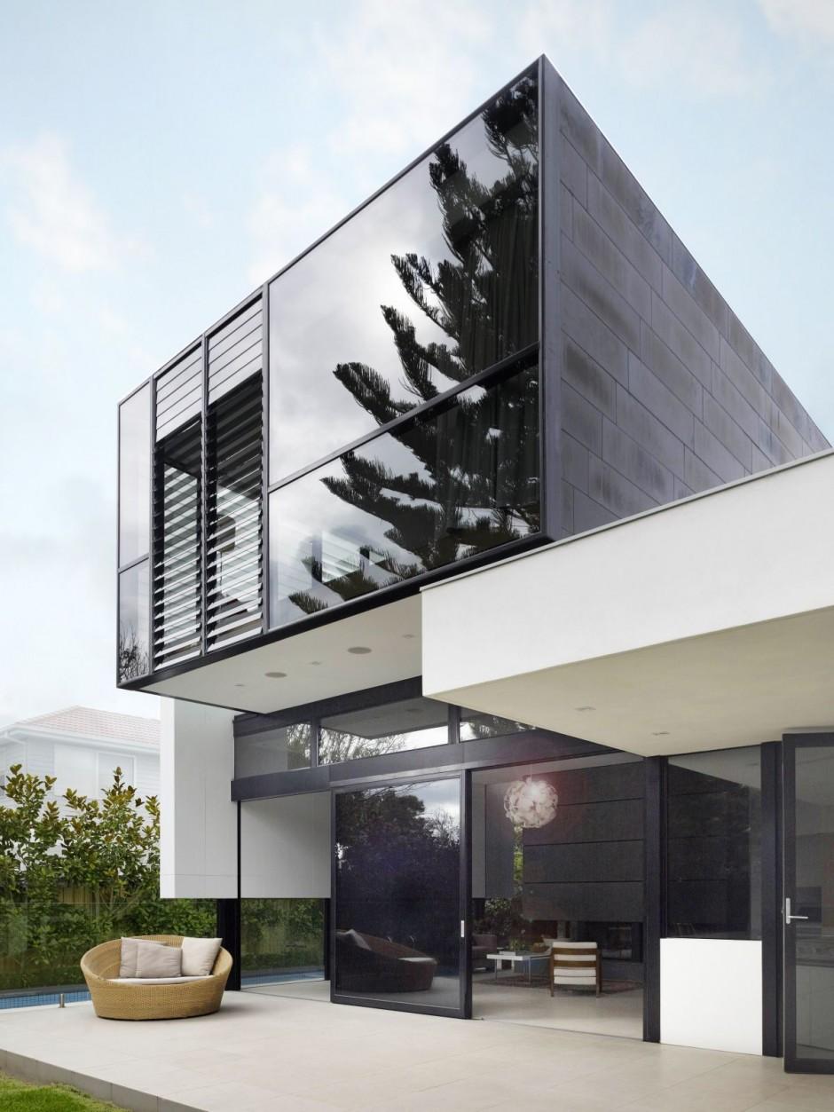 Estupenda casa minimalista en australia car interior design for Casa minimalista wikipedia